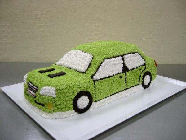 Детский торт машинка видео