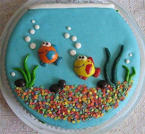 Детский торт своими руками на день рождения для девочки