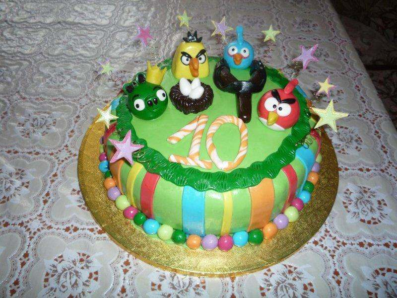 Торт на детский праздник с фото 158